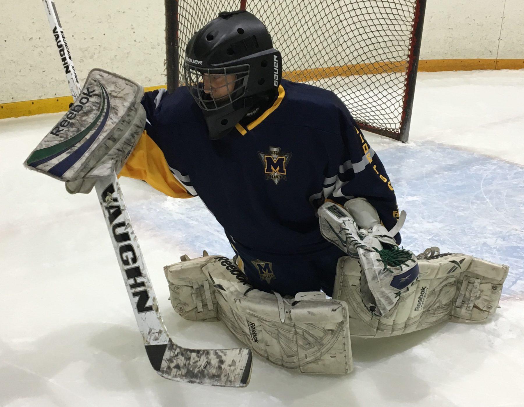 Advancing The Drill Butterfly Blocker Save Team Shutout Goalie School